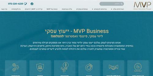 ייעוץ עסקי - MVP BUSINESS